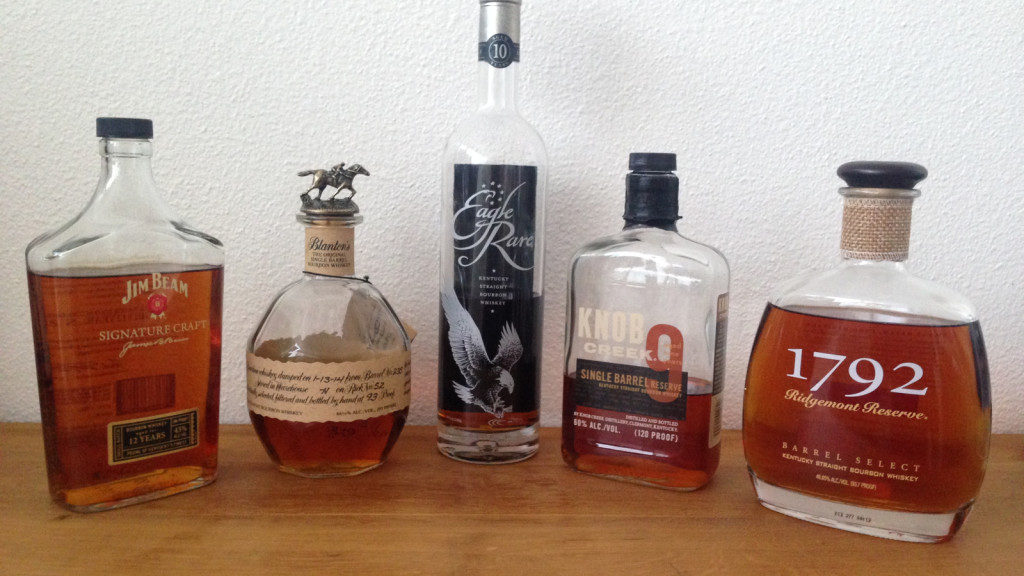 Bourbon Selection