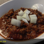 All-meat chili